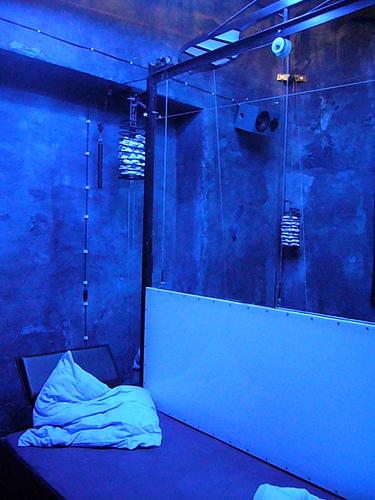 Hotel prisión. Fuente:http://www.propeller-island.de/