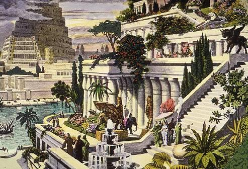 Jardines colgantes de Babilonia. Fuente:http://www.flickr.com/photos/22211466@N07/