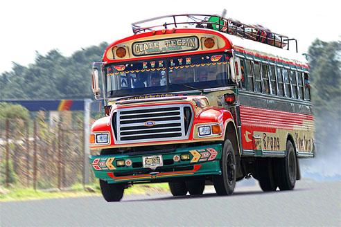 Autobús de Guatemala