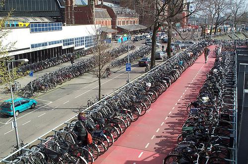 Amsterdam, ciudad de las bicicletas