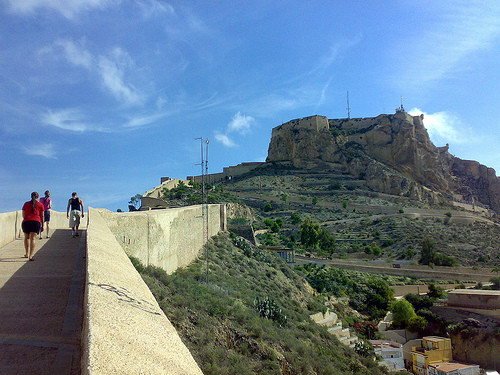 El Castillo de Santa Barbara (Alicante)