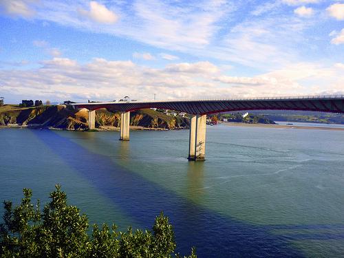 Puente Dos Santos (Ribadeo)