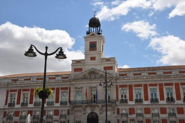 Puerta del Sol torre de las campanadas