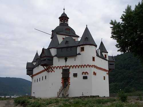 Castillo Burg Pfalzgrafenstein