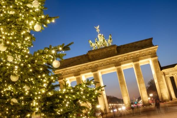 Navidad en Puerta de Brandeburgo