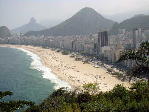Playa Copacabana, Rio de Janeiro, Brasil