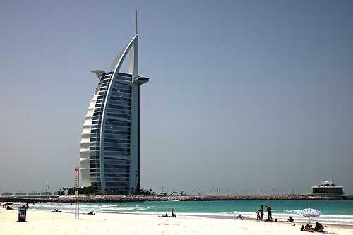 Hotel Burj Al Arab, Dubai, Emiratos Árabes