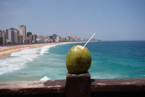 Playa Leblon, Rio de Janeiro, Brasil