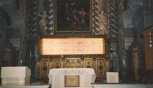 Museo del Santo Sudario, Turin, Italia