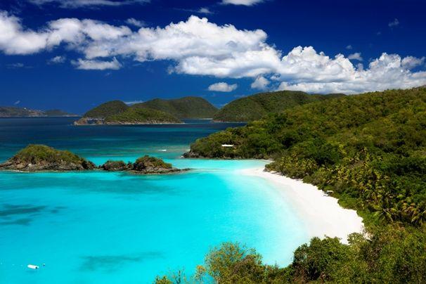 Trunk Bay en el Caribe