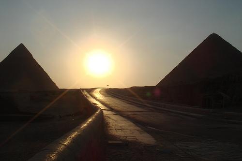 Pirámides de Giza, Cairo, Egipto