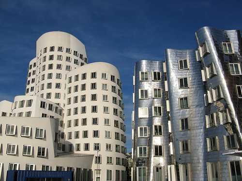 Düsseldorf, Medienhafen, Alemania
