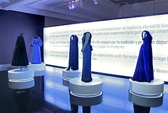 Exposición Cristobal Balenciaga