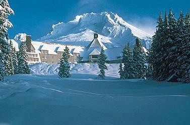 Hotel Timberline Lodge, Oregón, Estados Unidos, El Resplandor