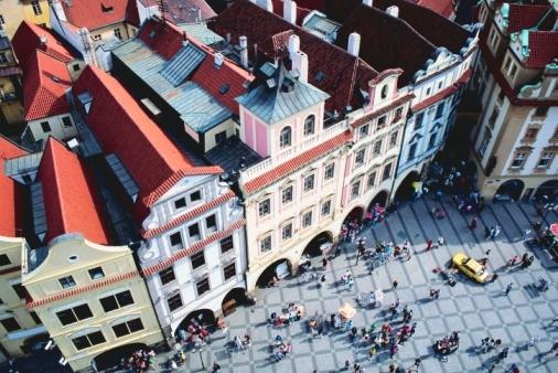 Plaza principal en Praga