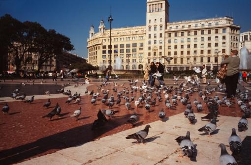Hoteles cerca de la plaza catalu a for Hoteles en bcn centro