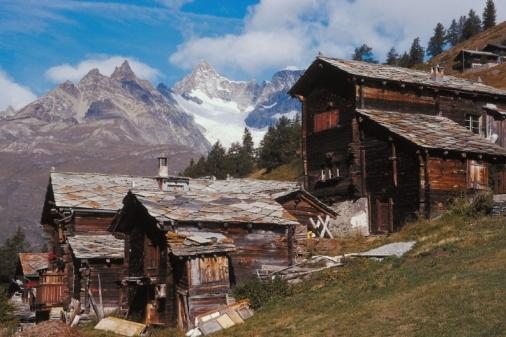 Esquiar en los Alpes Suizos