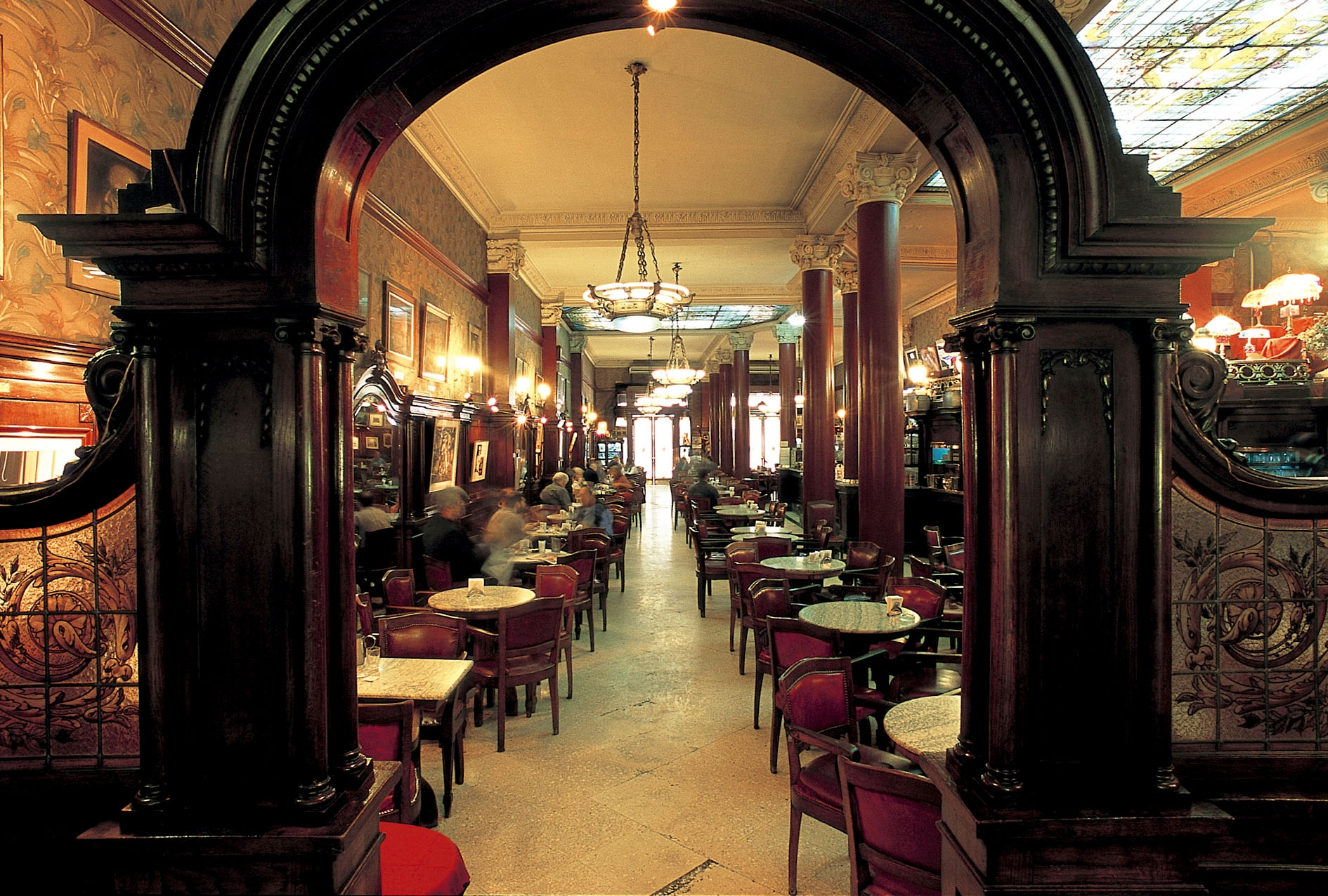 Bar Tortoni en Buenos Aires