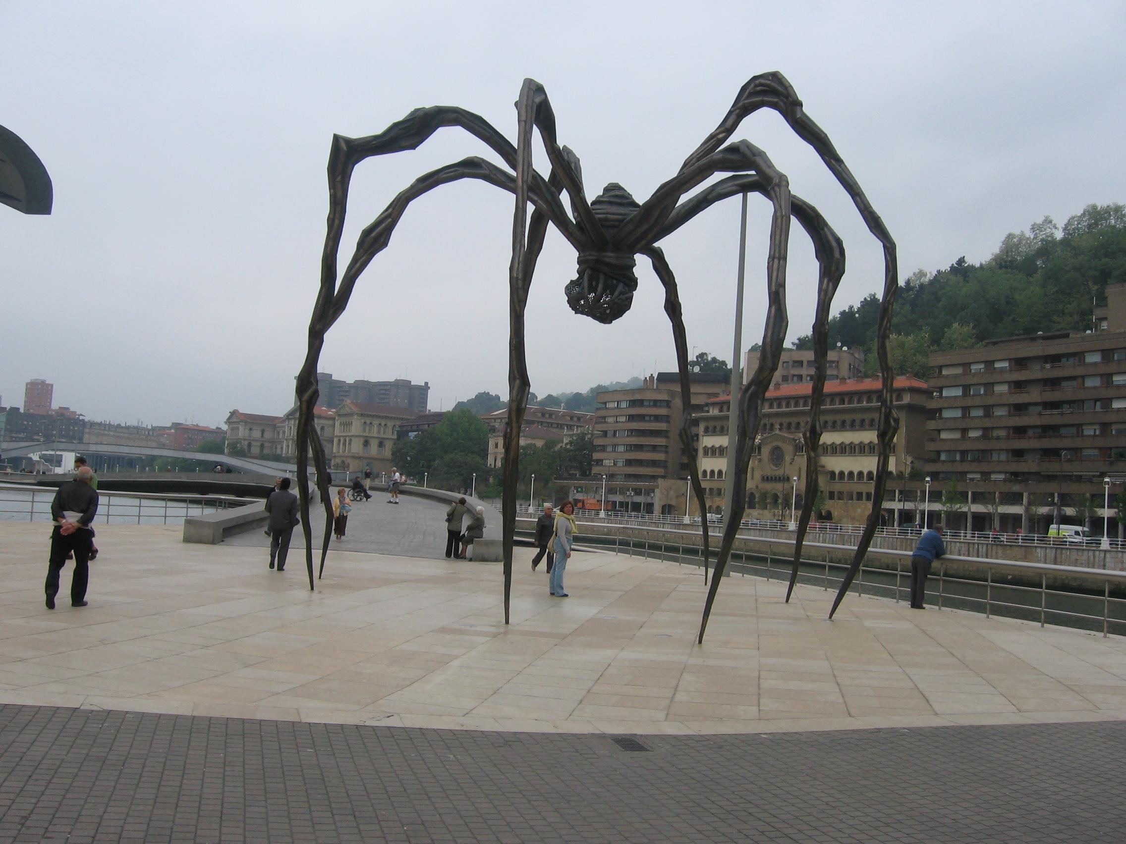 Araña del Museo Guggenheim