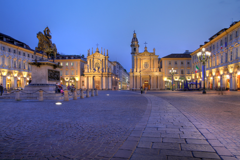 Plaza de San Carlo en Turín