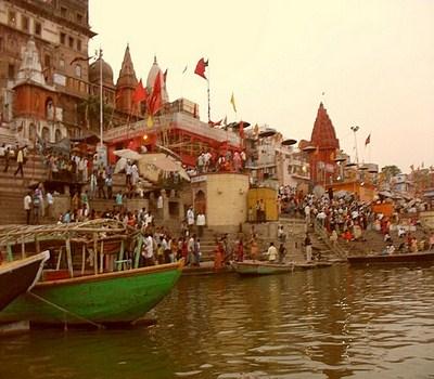 ghats en Benarés