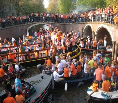 Dia de la Reina en Amsterdam