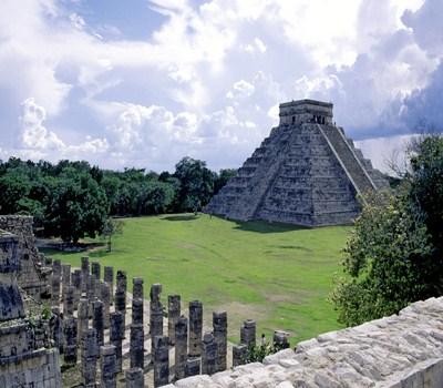 El yacimiento de Chichén Itzá en el Yucatán mexicano