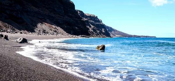 Playa en El Hierro