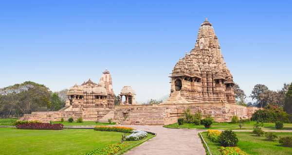 Khajuraho en India