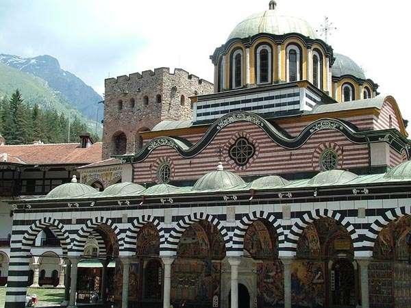 Monasterio de Rila en Bulgaria
