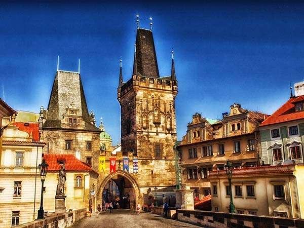 Praga y el puente de Carlos