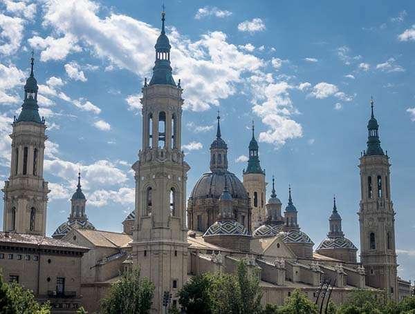 Basílica del Pilar en Zaragoza