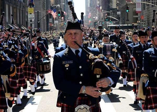 Día de San Patricio en Nueva York