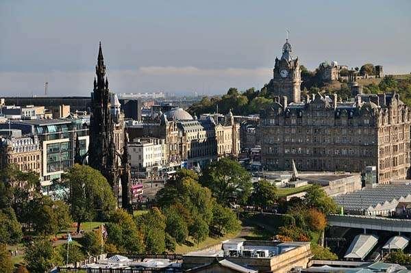 Vistas de Edimburgo