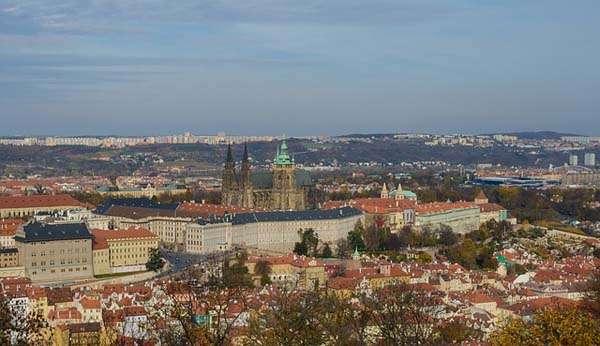 Panorámica del barrio de Hradcany en Praga