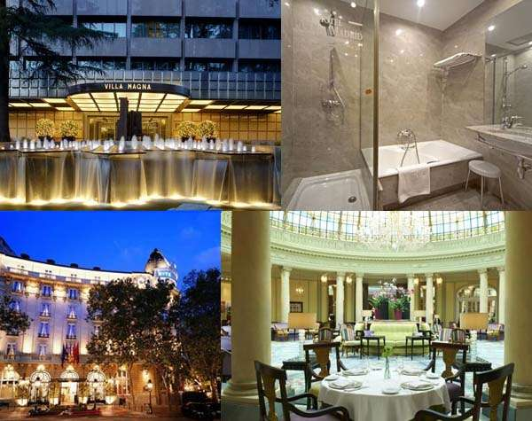 Los 5 hoteles m s lujosos de madrid for Hoteles de superlujo en espana