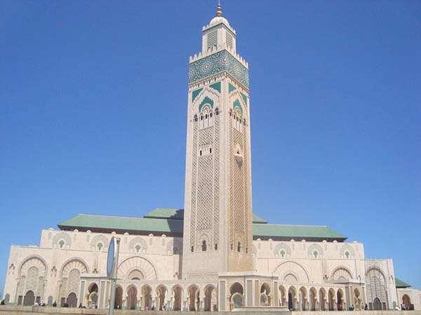 Mezquita en Casablanca