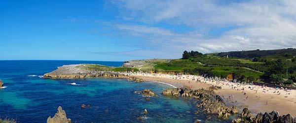 Playa en Llanes, Asturias