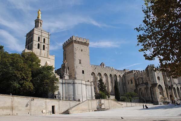Palacio de los Papas en Avignon