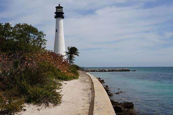 Faro en Bahía Vizcaina Miami