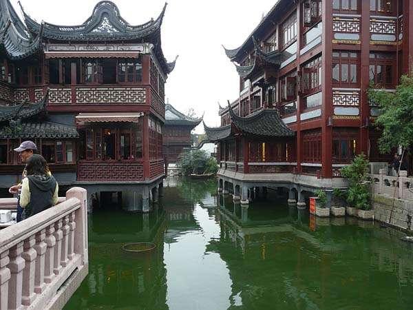 Shanghai ciudad vieja