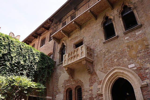 Balcon de Julieta en Verona