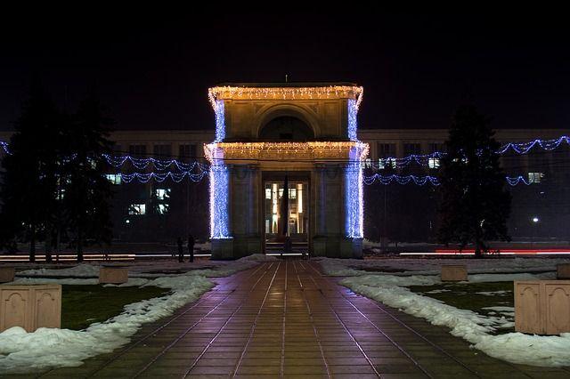 Arco del Triunfo en Chisinau