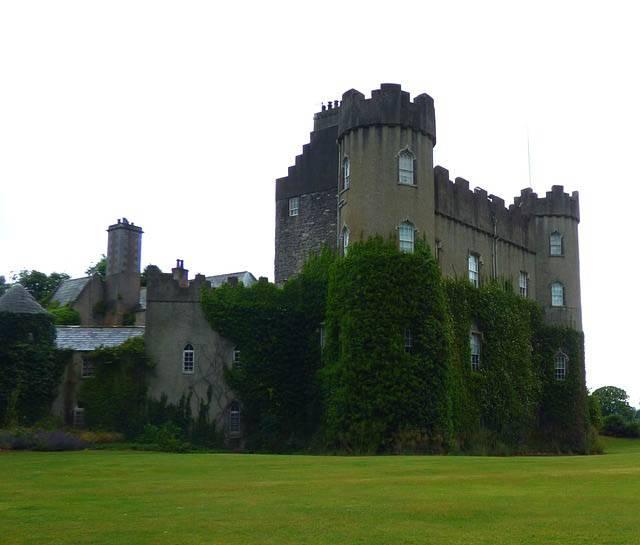 Castillo de Malahide cerca de Dublin