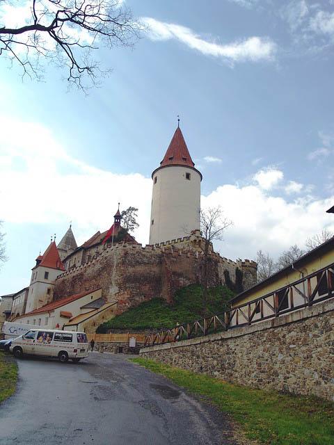 Castillo de Krivoklat en Chequia