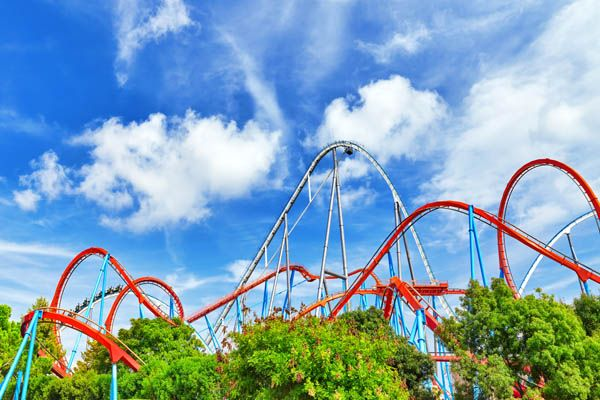 Atracciones en Port Aventura - Dragon Khan