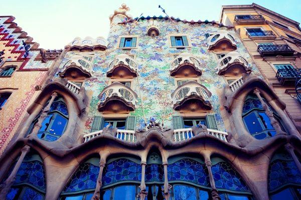 Casa Batllo en Barcelona