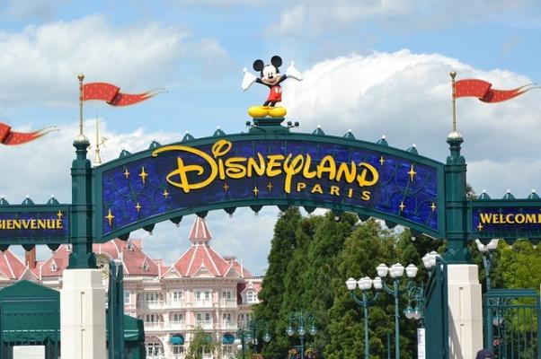 Disneyland Paris bienvenida