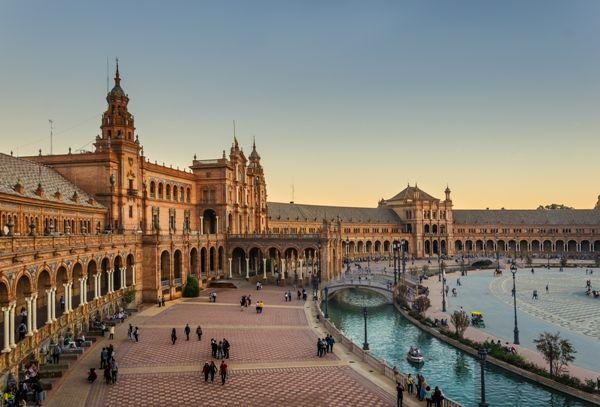 Plaza de España de Sevilla 1