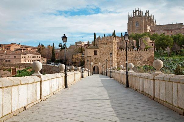 Toledo desde el puente San Martin
